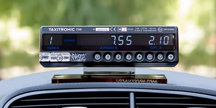 Taxímetro Taxitronic Tx-40