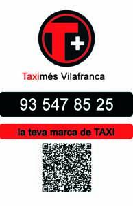 taxi vilafranca