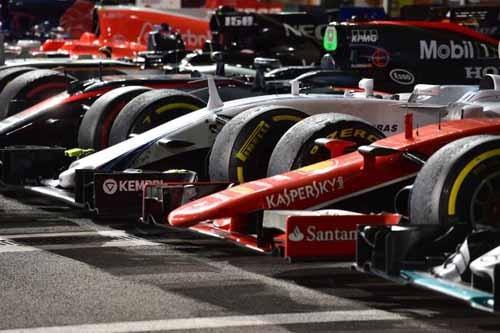 entrenamientos pretemporada formula 1 2016